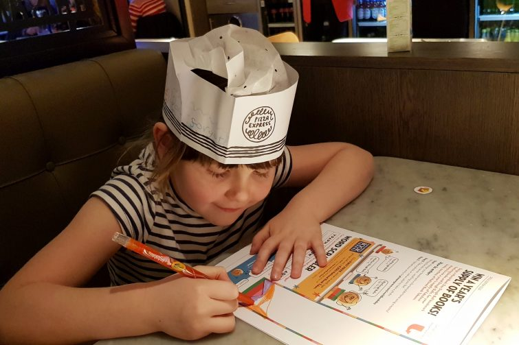 Pizza Express & World Book Day - bookmark competition