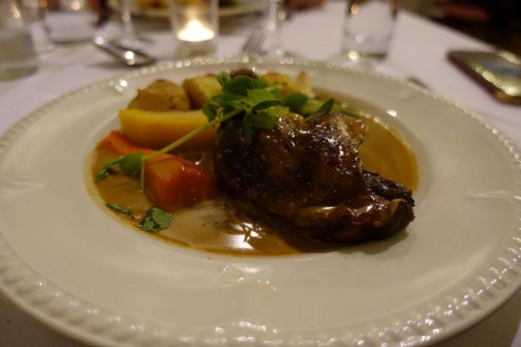 Duck main course - The Majestic Hotel, Harrogate