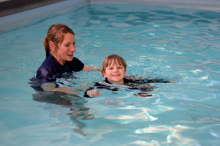 Puddle Ducks Swim Academy Pyjama Week - swimming in PJs personal survival skills