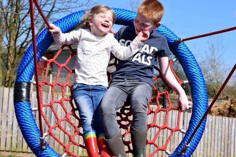 Reddish Vale Farm adventure playground