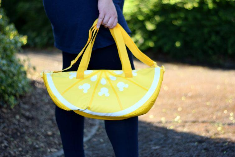 Disney Store Mickey Mouse detail lemon slice cool bag