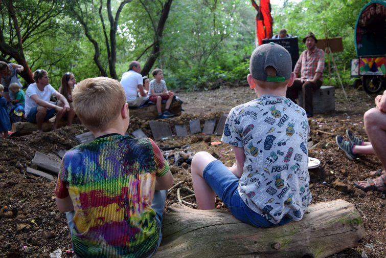 Timber Festival - Ian Douglas, campfire stories