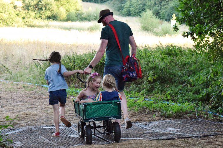 Timber festival - festival trolley