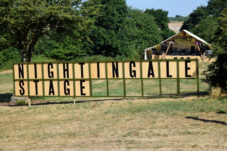 Timber Festival Nightingale Stage