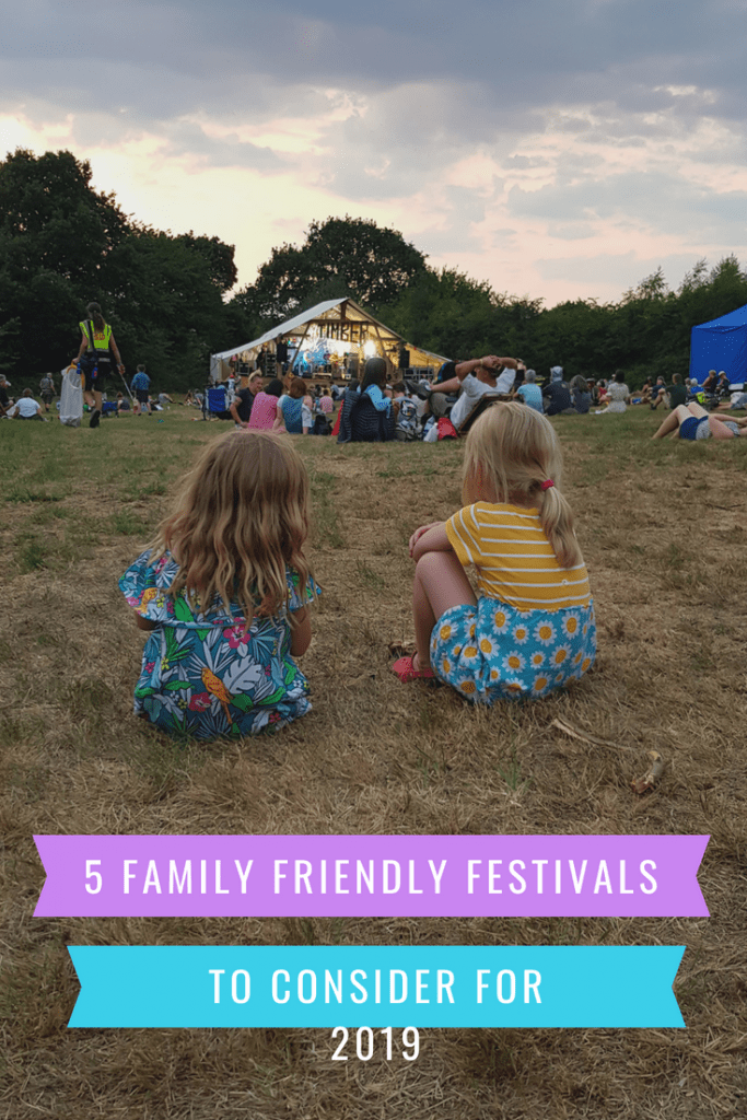 5 Family Friendly Festivals fpr 2019 | We're going on an adventure - book tickets for uk family friendly festivals 2019