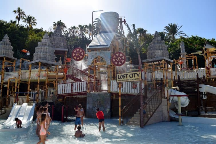 Siam Park - Lost City - water park for children