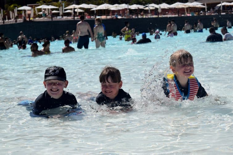 Siam Park with kids - Wave Palace