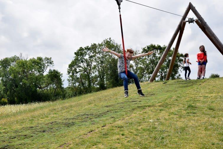 William's Den Zip Wire