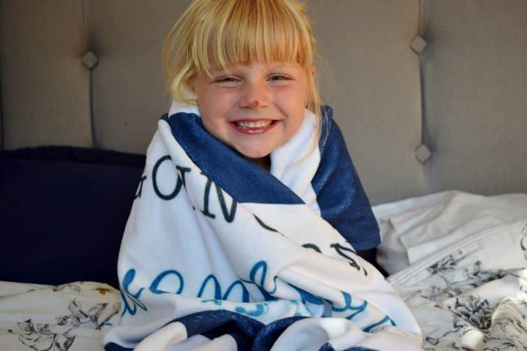 Snapfish personalised beach towel