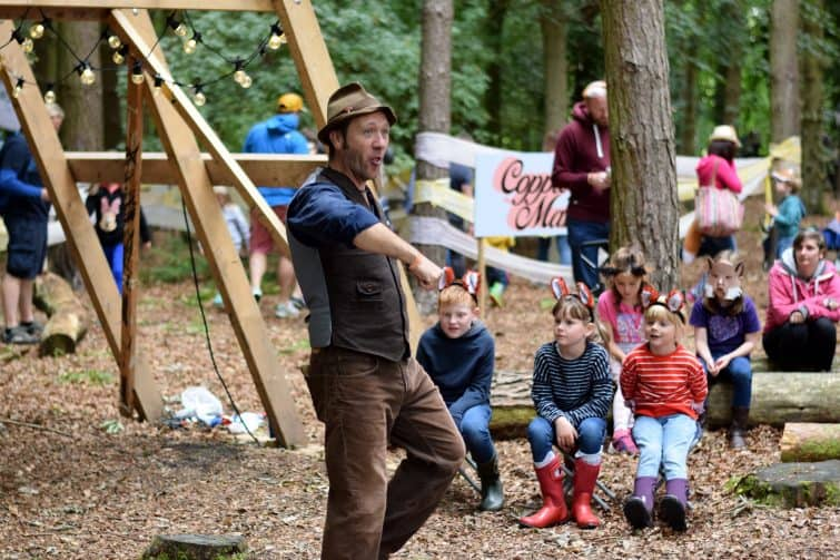 Just So Festival 2018 - Ian Douglas, story teller - family festivals
