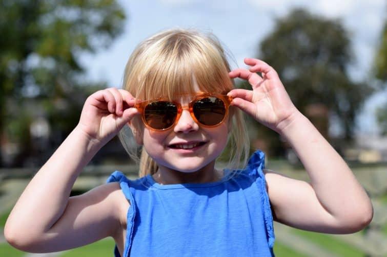 monkey monkey children's sunglasses