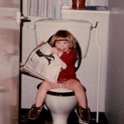 little girl on the toilet - 20 reasons my child needs the toilet | We're going on an adventure