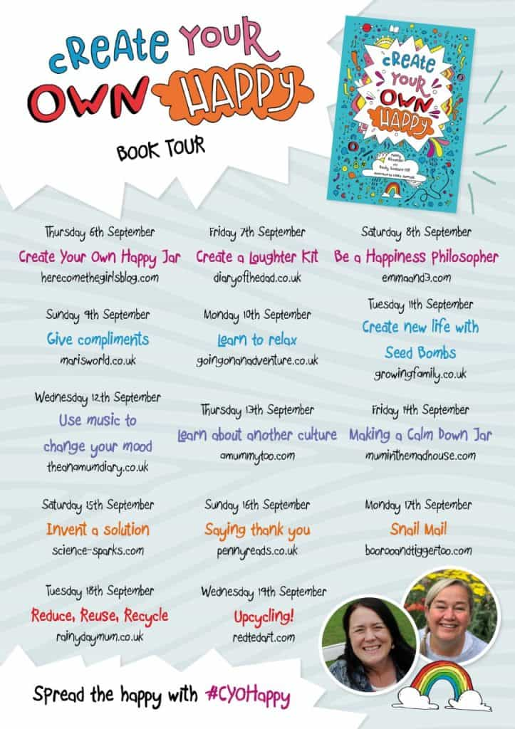 Create Your Own Happy Blog Tour