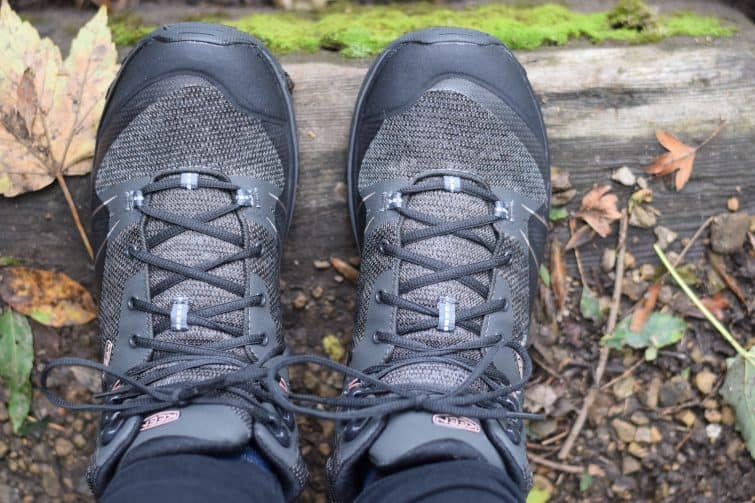 WOMEN'S TERRADORA WATERPROOF MID HIKING BOOTS - Raven / Rose Dawn colour way | We're going on an adventure