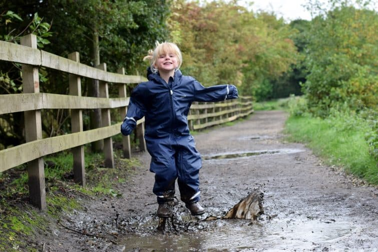 Muddy Puddles puddleflex waterproof suit