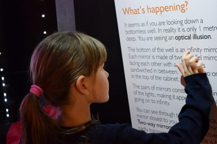 Science + Industry Museum | We're going on an adventure - reading information boards