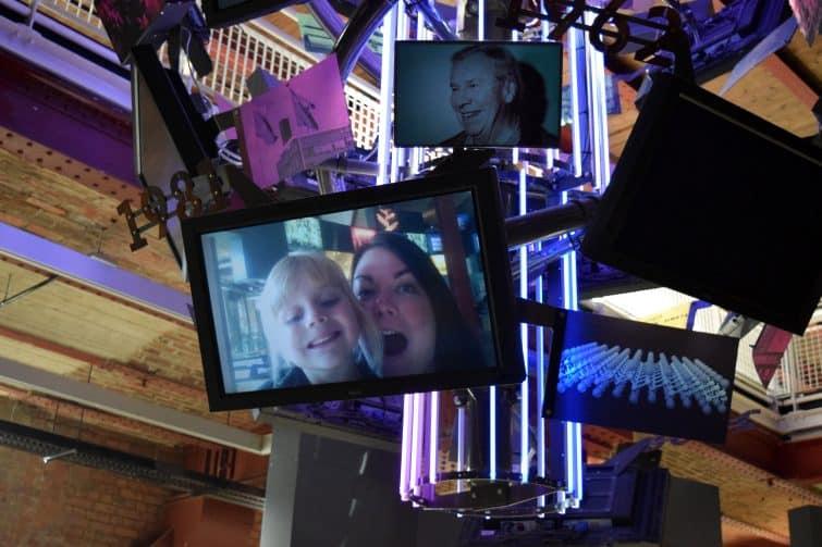 Science + Industry Museum | We're going on an adventure - selfie screens