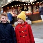 Leeds German Market with kids
