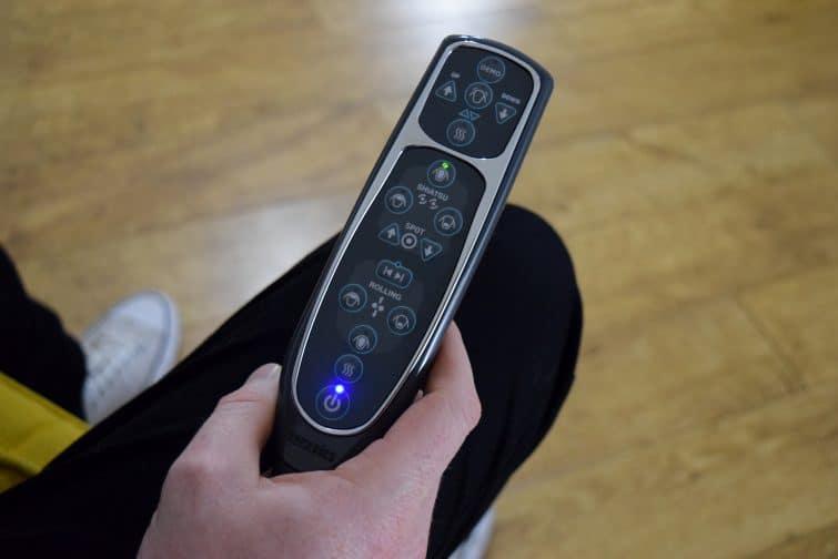 Homedics remote control