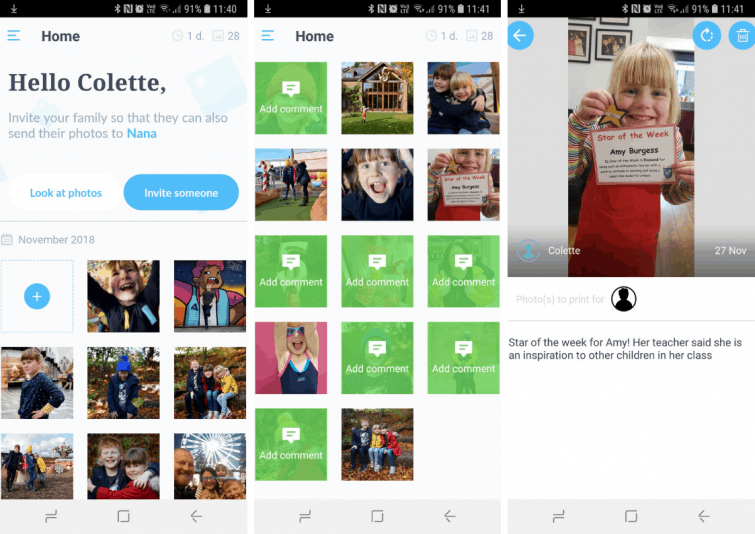 NEVEO app - how to upload images to NEVEO