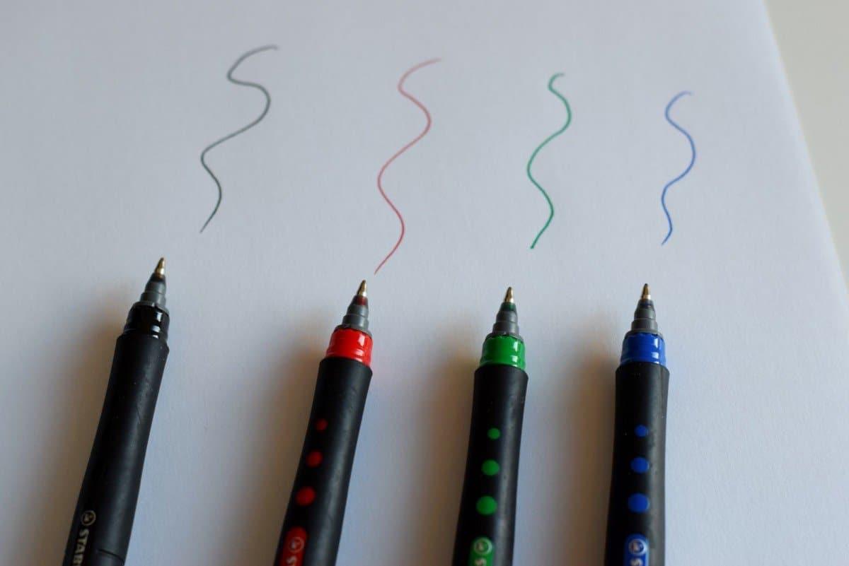 STABILO bl@ack colour fine line pens