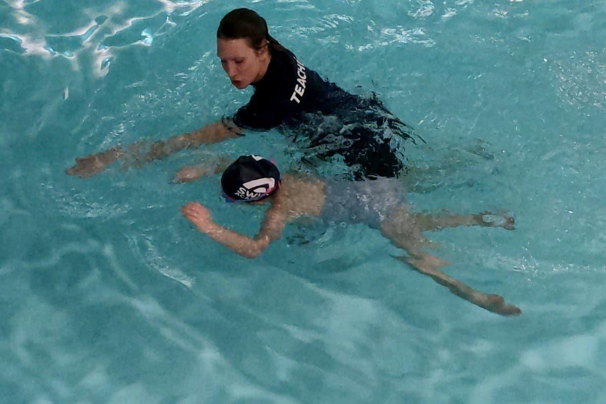 Swim Academy head down swims