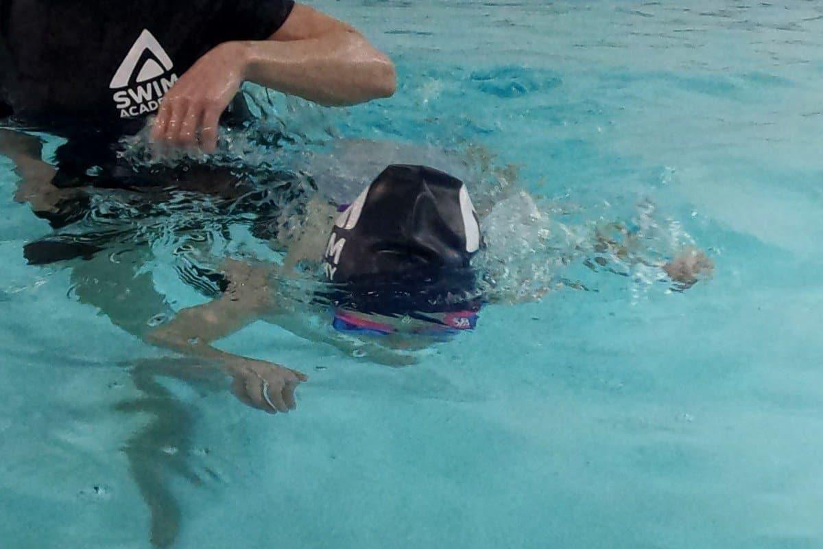Swim Academy Stage 2 head down swim