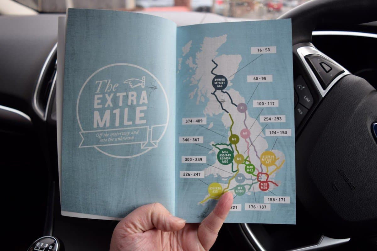 The Extra Mile - which motorways does it cover?