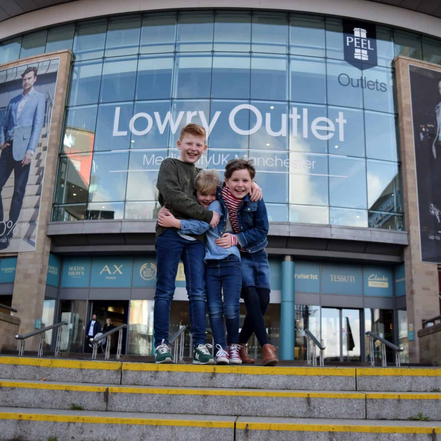Family day our at Lowry Outlet