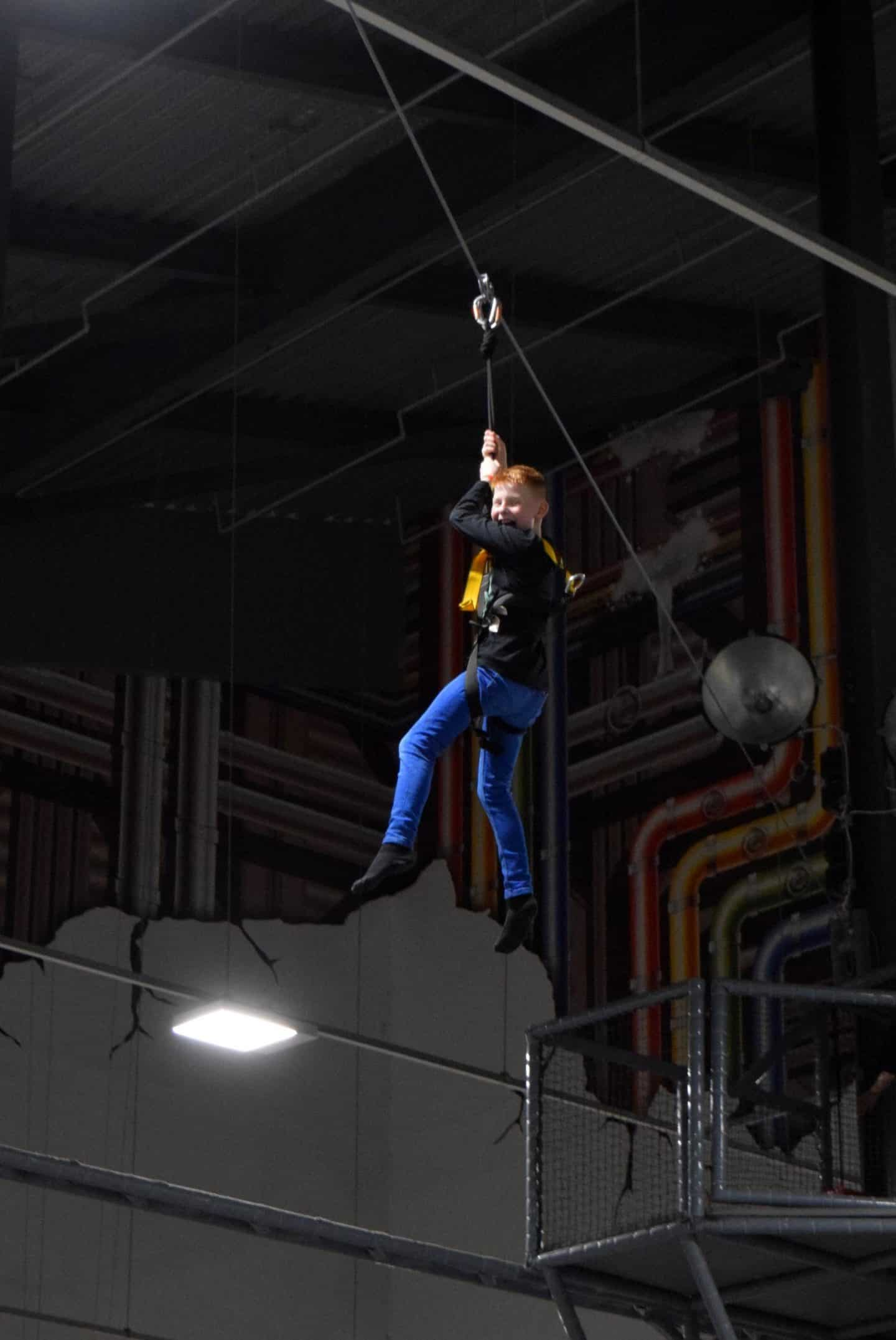 Play Factore zip wire