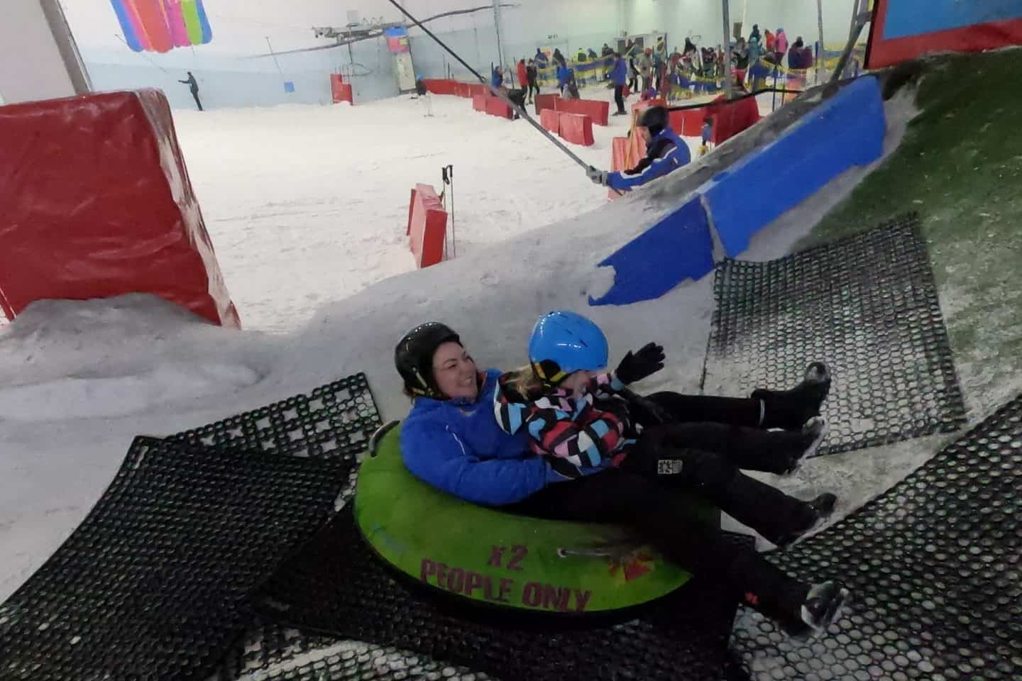 Chill Factore Snow Park donuts