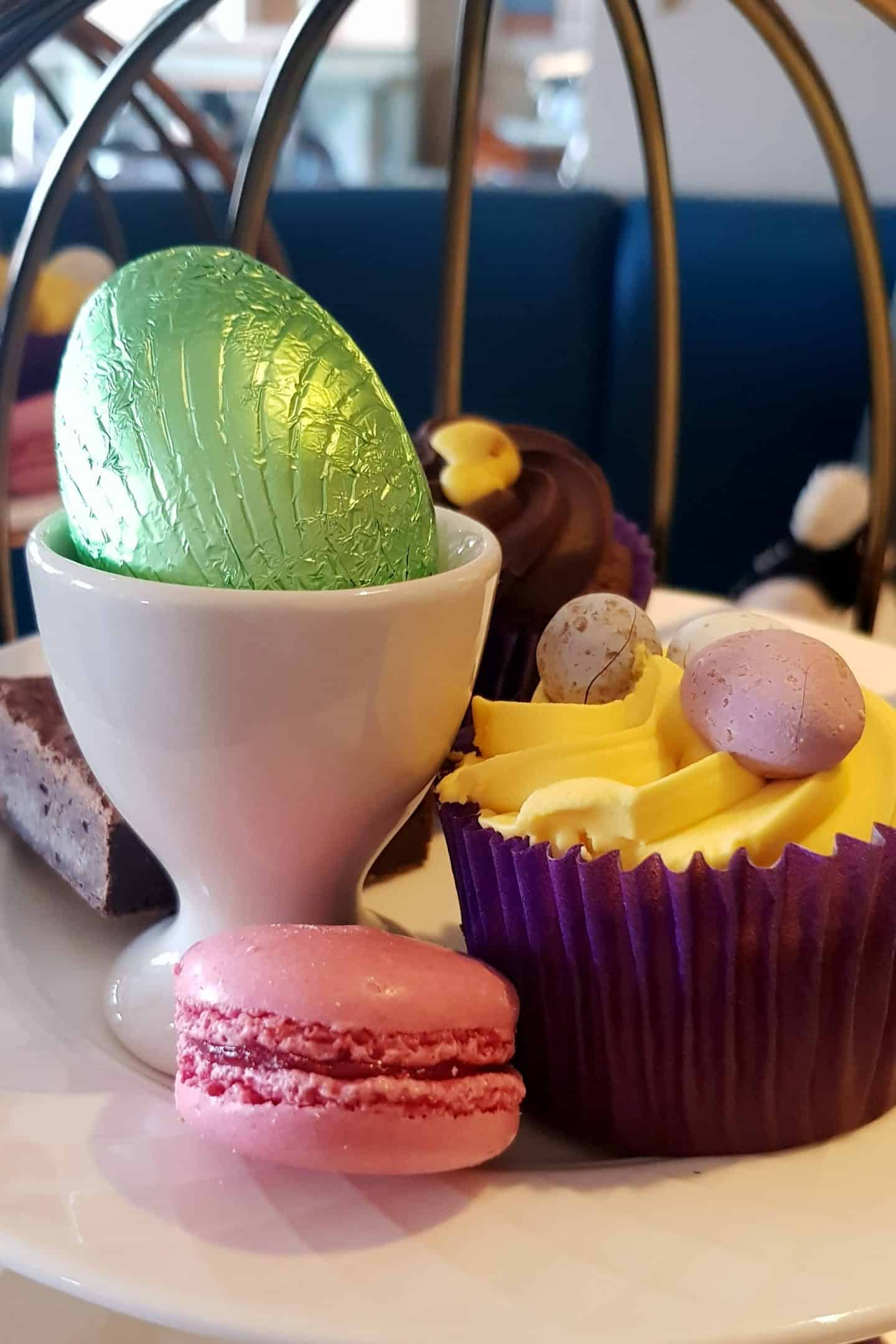 Easter themed afternoon tea