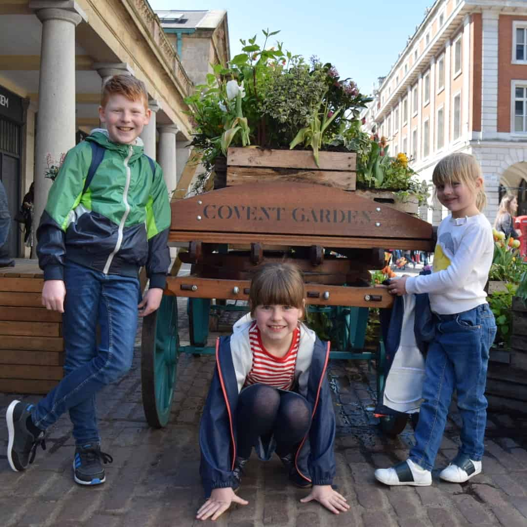 Kids in Covent Garden