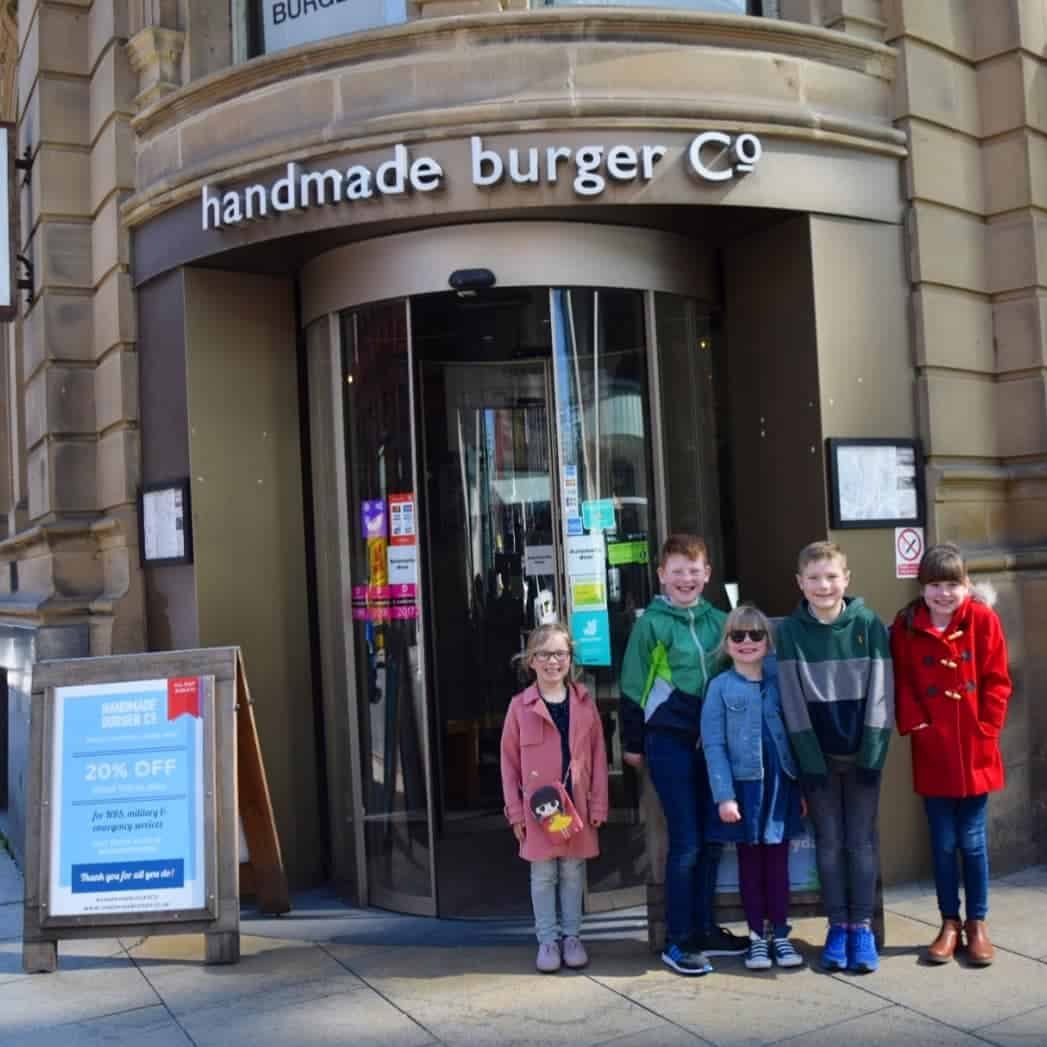 Handmade Burger Co in Manchester