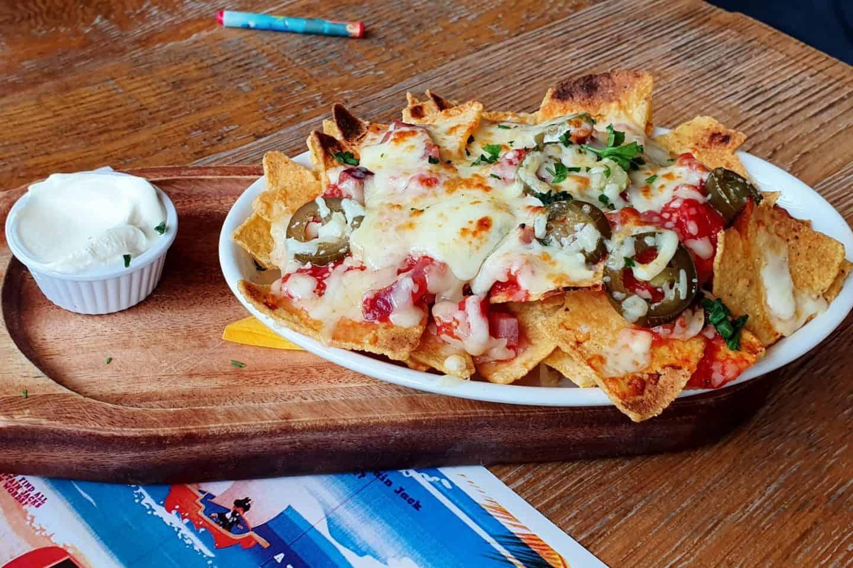Captain Jack's nachos - Coral Island