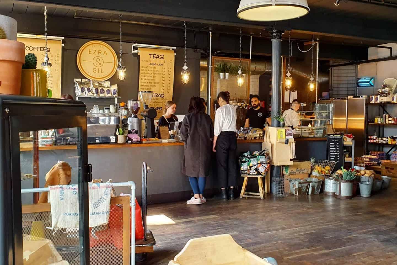 Ezra & Gil, Northern Quarter coffee shop