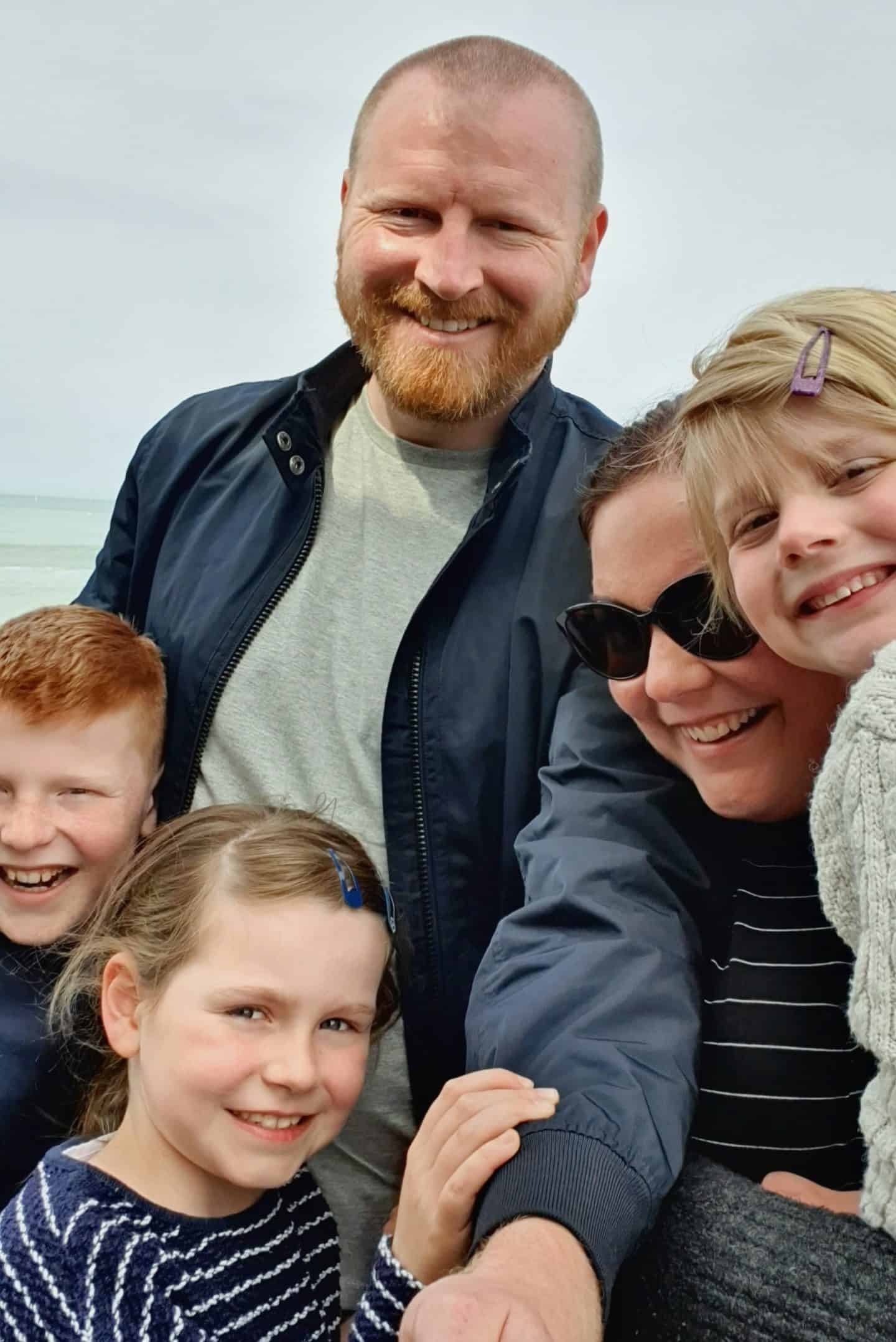We're going on an adventure family photo on the ferry to France - May 2019 Me & Mine