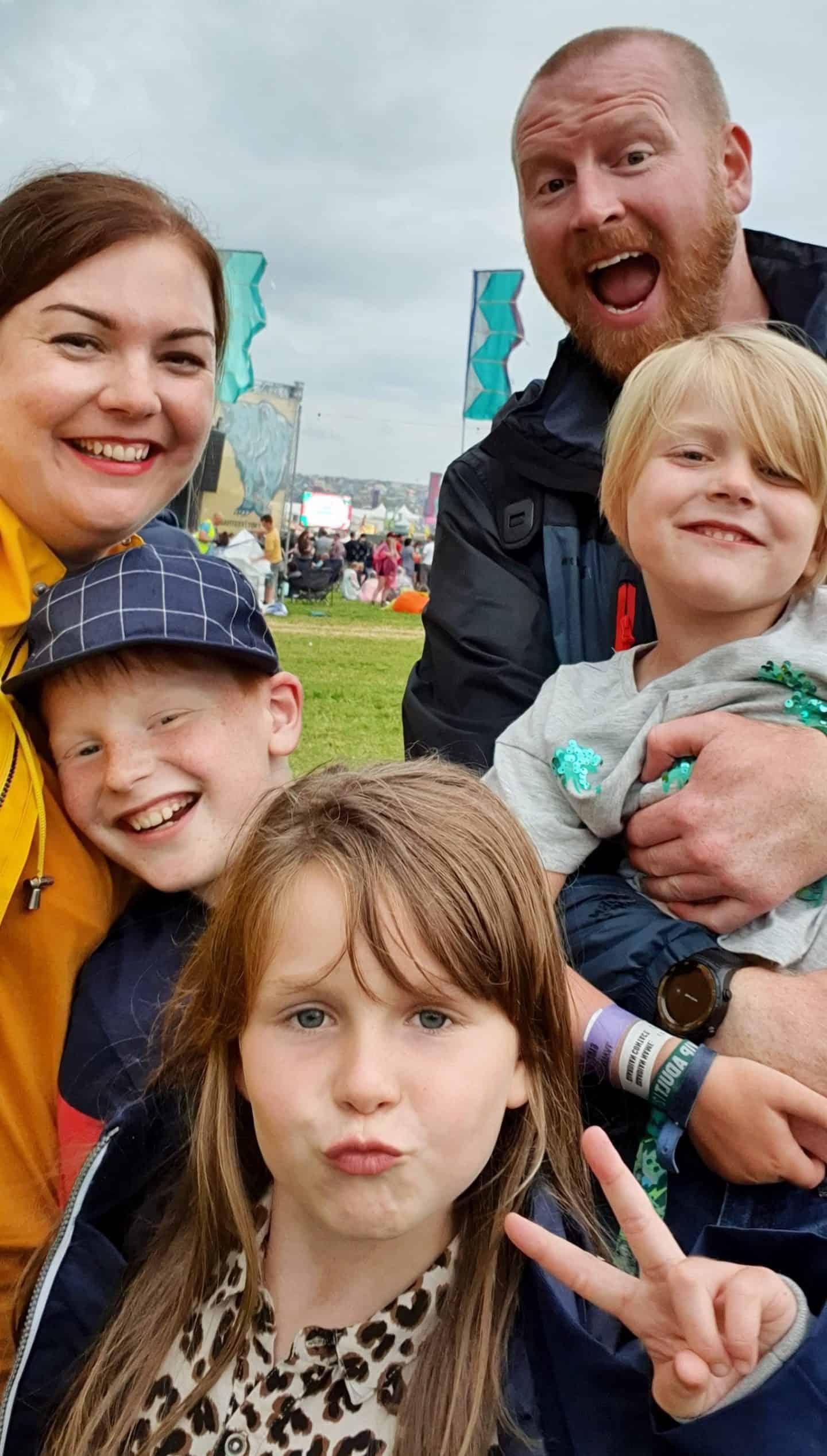 Family at YNot Festival July 2019