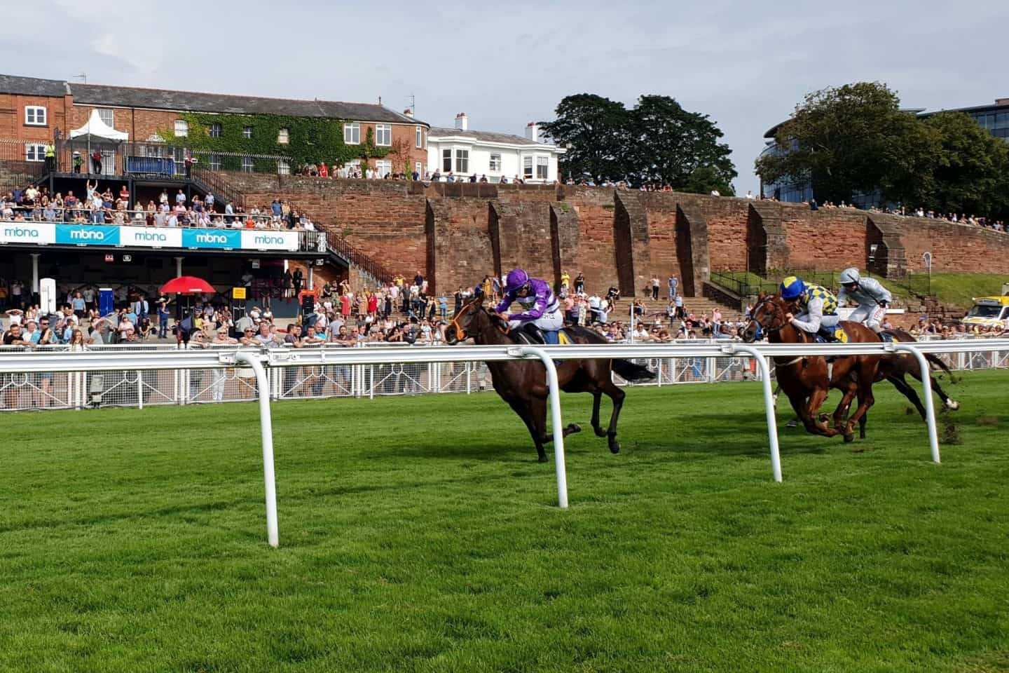 Horse racing at Chester Racecourse