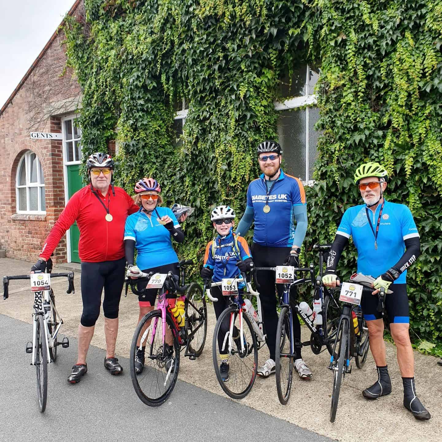 Three generations complete the Ride Yorkshire Sportive 2019