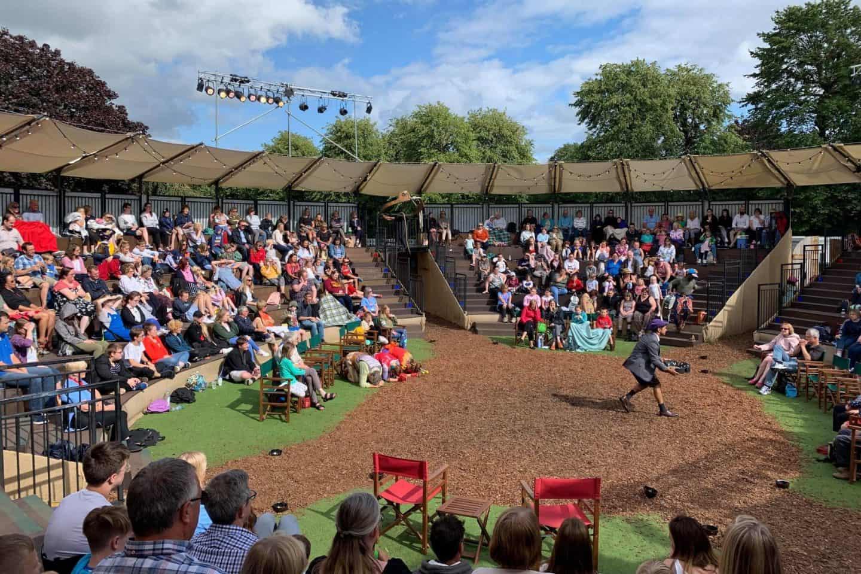 Grosvenor Park Open Air Theatre - theatre in the round