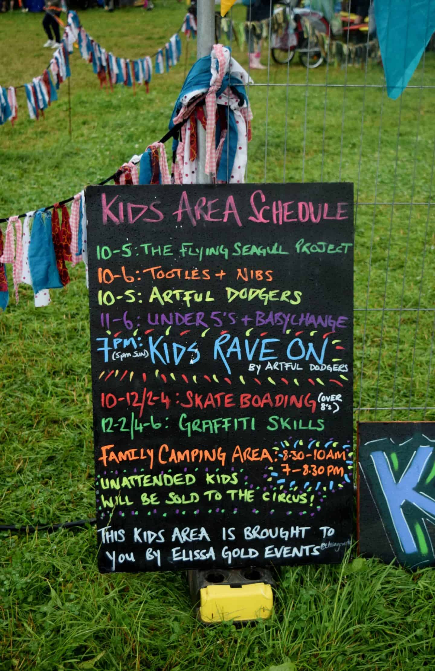 What is there for kids at Y Not Festival