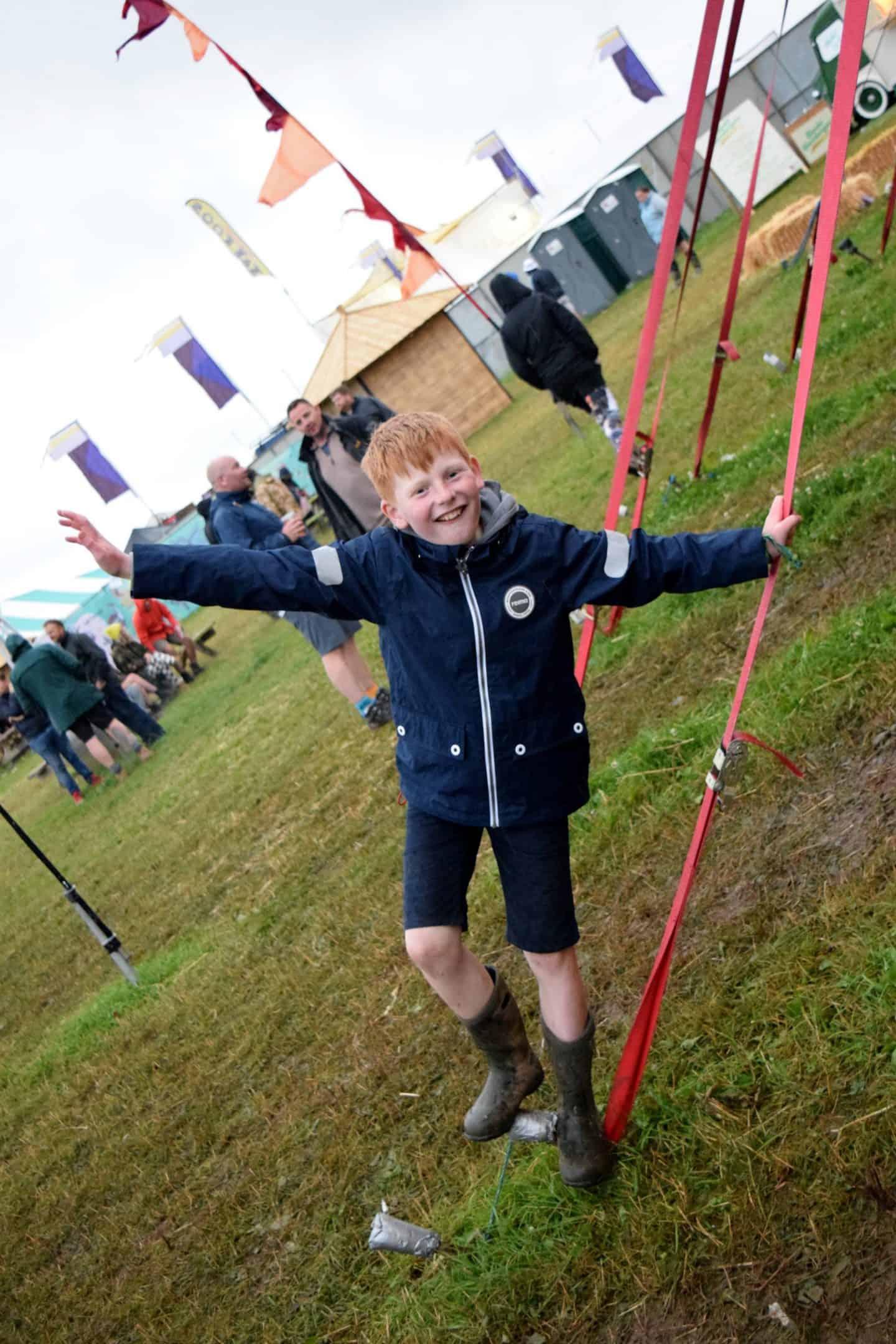 Boy at Y Not Festival