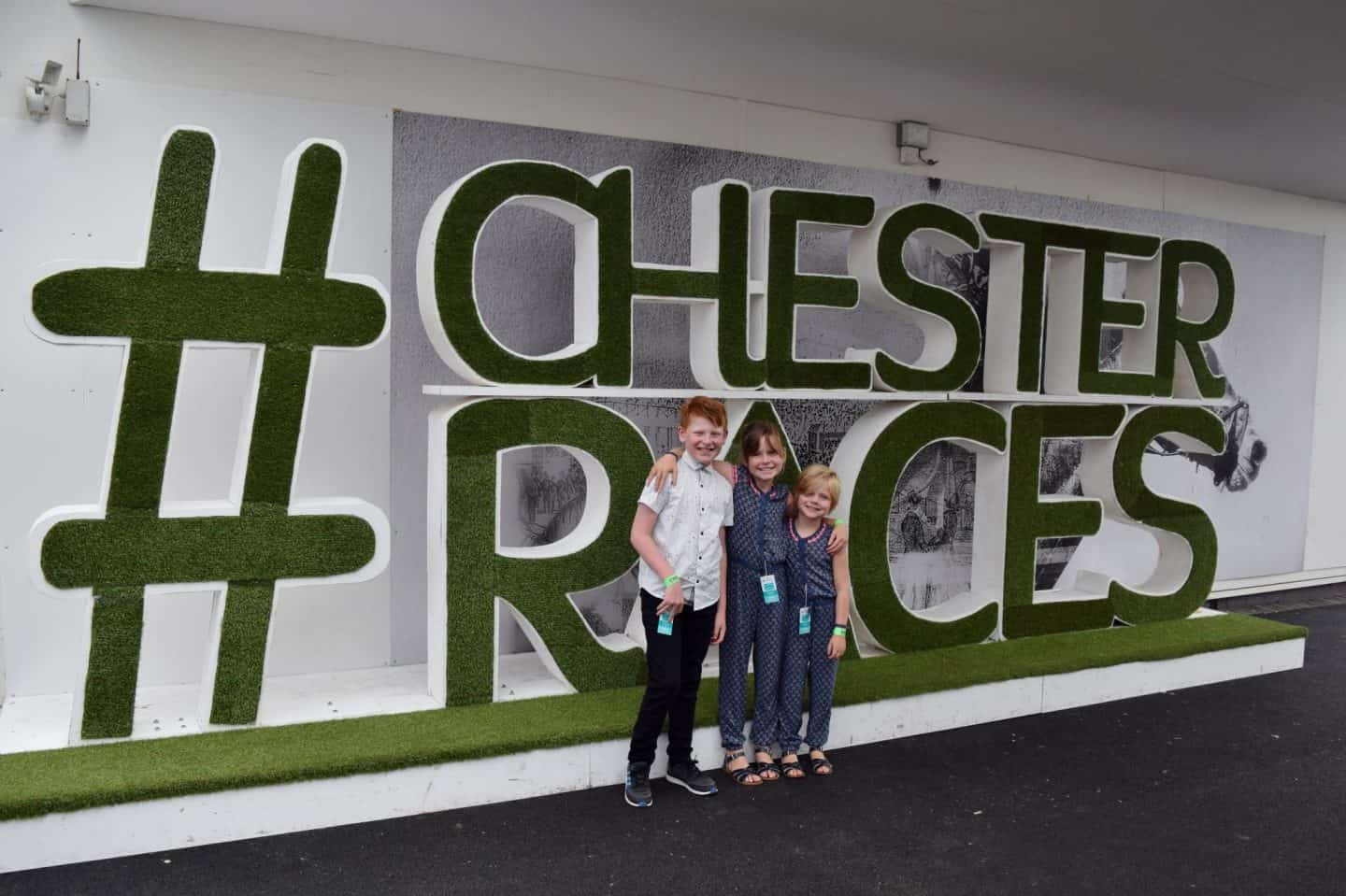 #ChesterRaces sign at Chester Racecourse