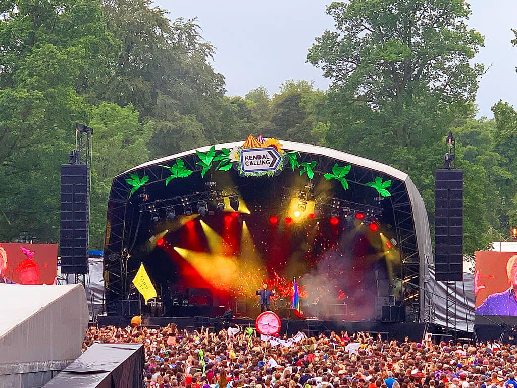 Kendal Calling 2019 - Tom Jones (The Twinkle Diaries)