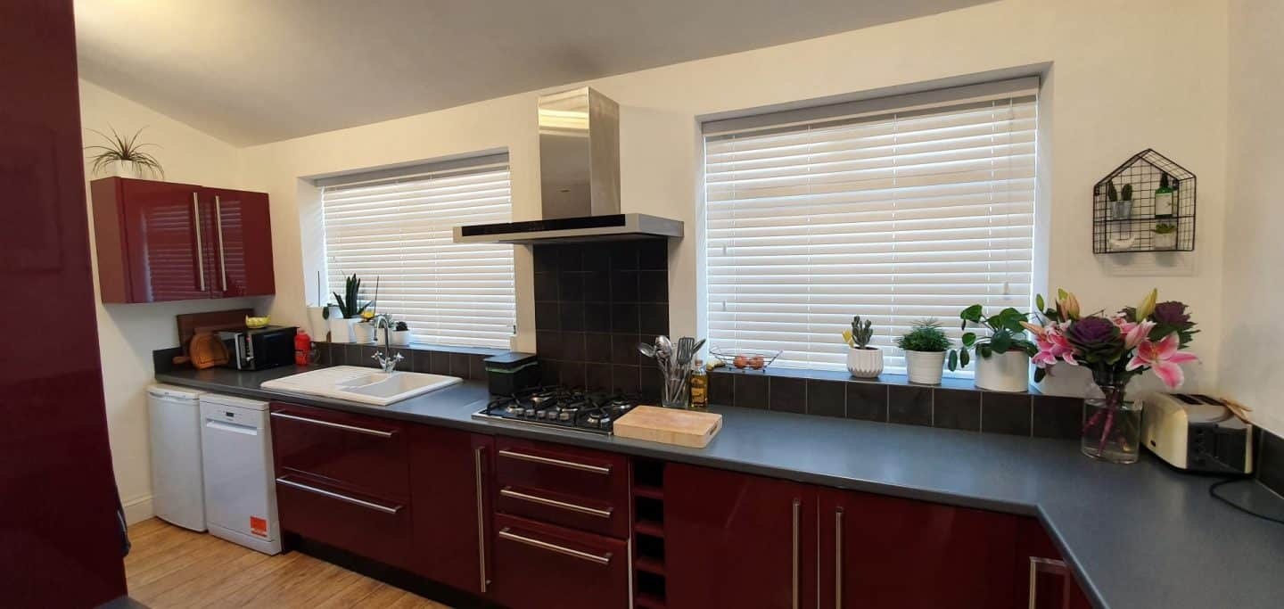 Wood effect PVC blinds - made to measure