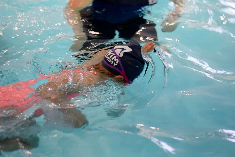 head down, lion arms swim - Swim Academy swimming lessons