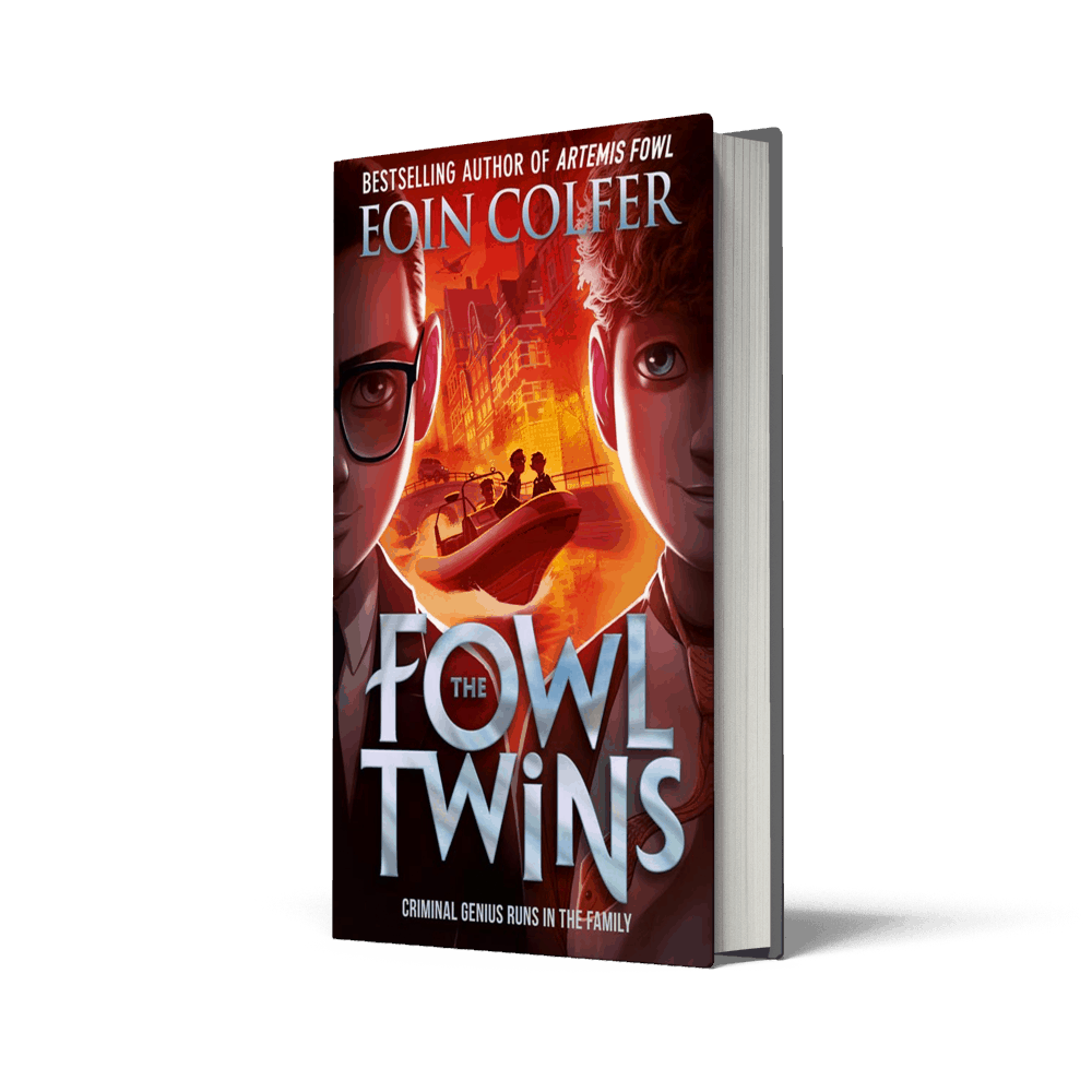Eoin Colfer – The Fowl Twins (Win signed copies & event tickets!)