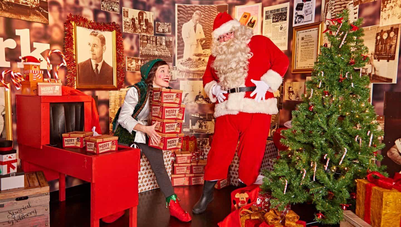 Santa's Sweet Adventure at York Chocolate Story